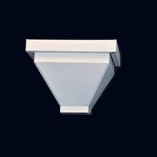 Scupper for roof drain 18