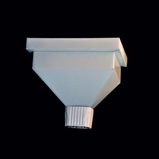 Scupper for roof drain 26