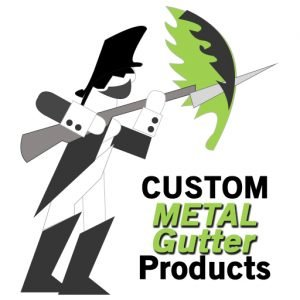 Custom Metal Gutter Products formally known as Drain Guard Products logo