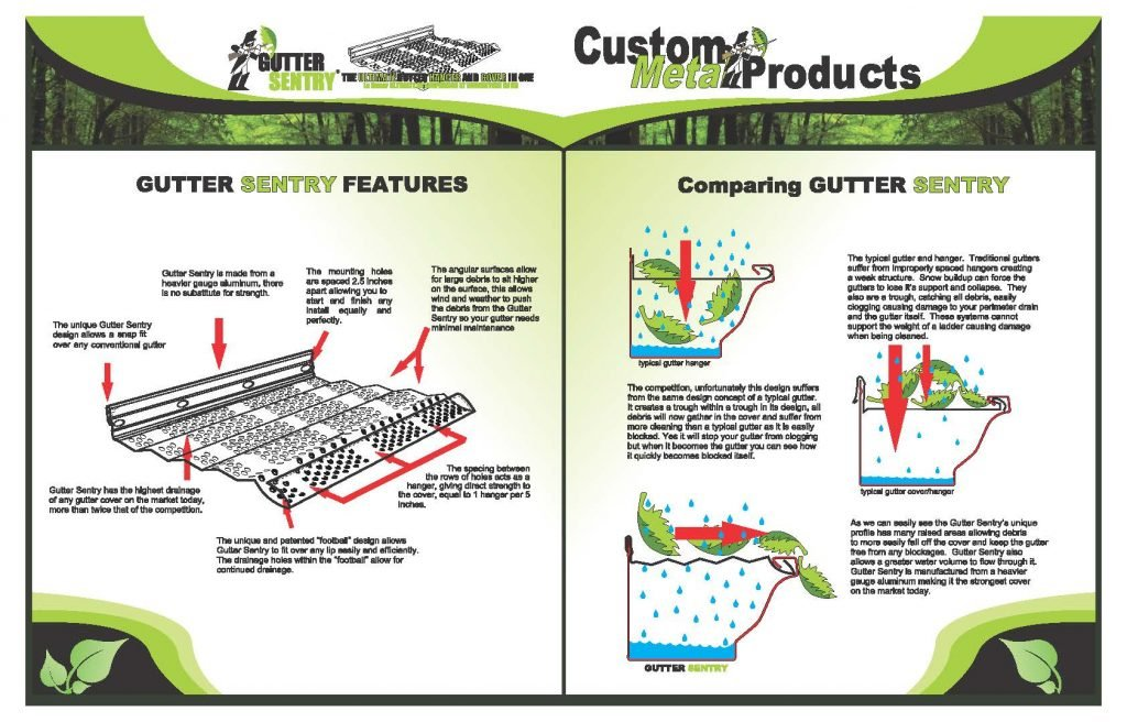 Gutter Sentry Installation Instructions Page 2